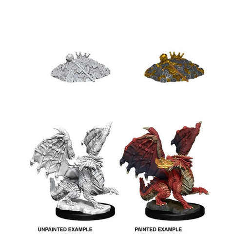 Nolzurs Marvelous Miniatures - Red Dragon Wyrmling