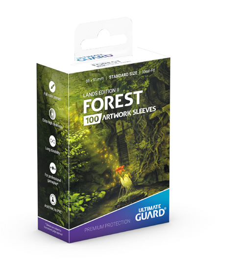 Ultimate Guard: Standard Lands Edition II Forest (Box of 100)