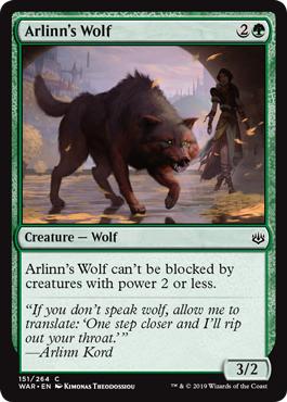 Arlinns Wolf