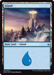 Island (253) - Foil (WAR)