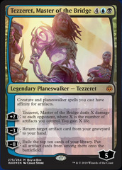 Tezzeret, Master of the Bridge - Foil Buy-a-Box Promo