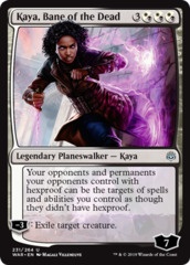 Kaya, Bane of the Dead - Foil