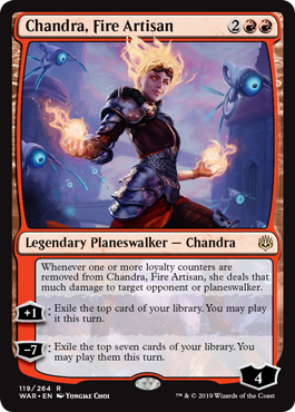 Chandra, Fire Artisan - Foil