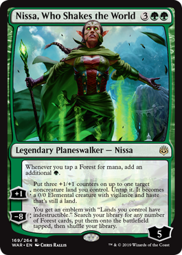 Nissa, Who Shakes the World - Foil
