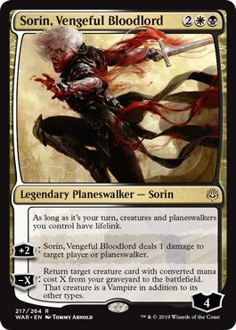 Sorin, Vengeful Bloodlord - Foil