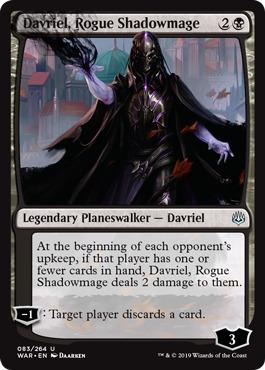Davriel, Rogue Shadowmage - Foil