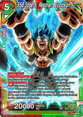 SSB Gogeta, Resonant Explosion - EX04-03 - EX on Channel Fireball