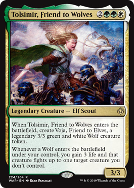 Tolsimir, Friend to Wolves - Foil