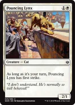 Pouncing Lynx