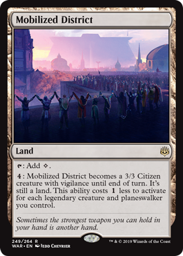 Mobilized District - Foil