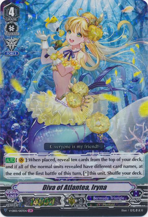 Diva of Atlantea, Iryna - V-EB05/007EN - LIR