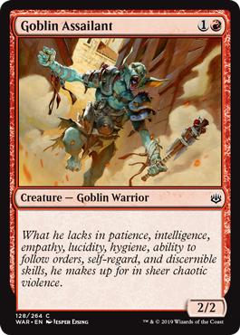 Goblin Assailant - Foil