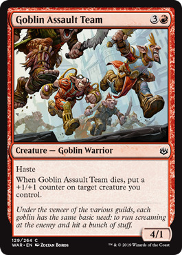 Goblin Assault Team