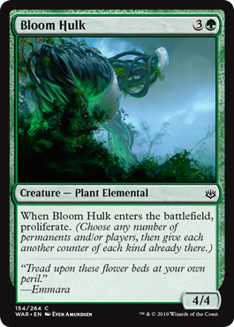 Bloom Hulk - Foil