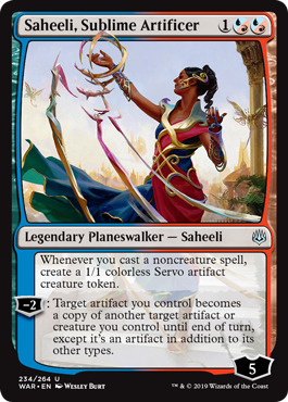 Saheeli, Sublime Artificer - Foil