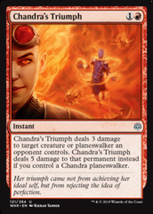 Chandra's Triumph - Foil