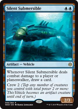 Silent Submersible - Foil