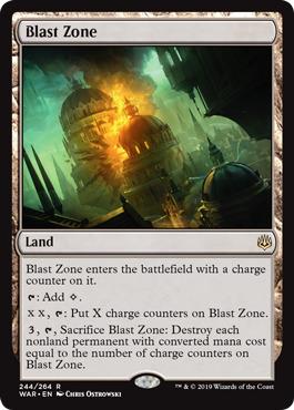 Blast Zone - Foil