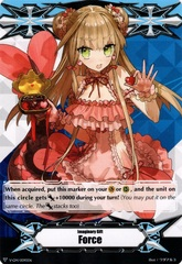 ▽  Imaginary Gift Marker [Force] Choco Love Heart, Liselotte Art - V-GM/0090EN (FOIL) [V-TD08]