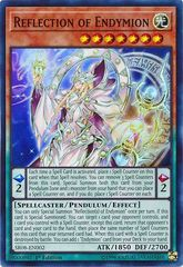 Reflection of Endymion - SR08-EN002 - Super Rare - 1st Edition