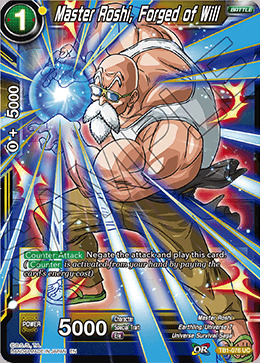 Master Roshi, Forged of Will - TB1-076 - UC - Special Anniversary Box
