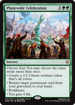 Planewide Celebration - Foil