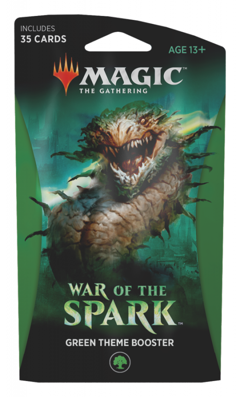 War of the Spark - Green Theme Booster Pack