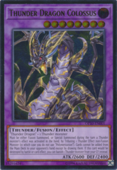 Thunder Dragon Colossus - OP10-EN001 - Ultimate Rare - Unlimited Edition