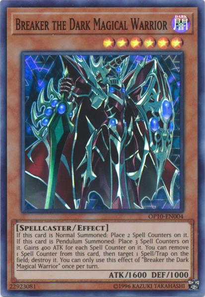 Breaker the Dark Magical Warrior - OP10-EN004 - Super Rare - Unlimited Edition