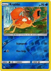 Krabby - 46/214 - Common - Reverse Holo