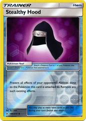 Stealthy Hood - 186/214 - Uncommon - Reverse Holo