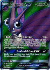 Venomoth GX - 193/214 - Full Art Ultra Rare on Channel Fireball