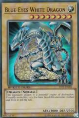 Blue-Eyes White Dragon - STP1-EN004 - Ultra Rare - Unlimited on Channel Fireball