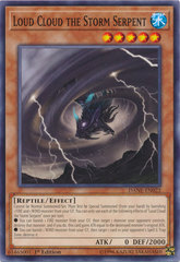 Loud Cloud the Storm Serpent - DANE-EN022 - Common - 1st Edition