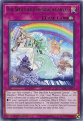 The Weather Rainbowed Canvas - DANE-EN073 - Rare - 1st Edition