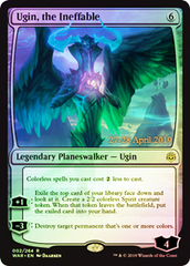 Ugin, the Ineffable - Foil - Prerelease Promo