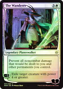The Wanderer - Foil - Prerelease Promo