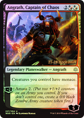 Angrath, Captain of Chaos - Foil - Prerelease Promo