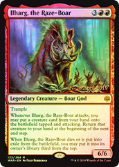 Ilharg, the Raze-Boar - Foil - Prerelease Promo