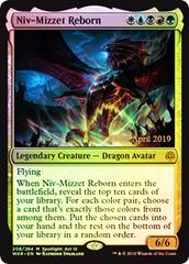 Niv-Mizzet Reborn - Prerelease Promo War of the Spark FOIL