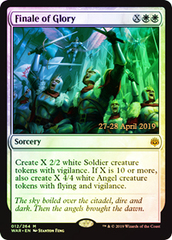 Finale of Glory - Foil - Prerelease Promo