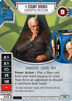 Count Dooku - Corrupted Politician