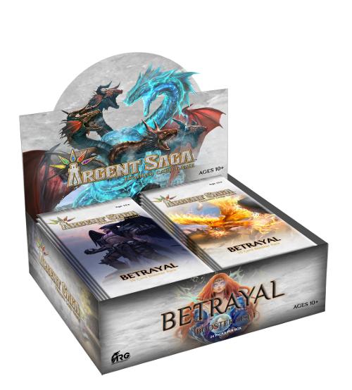 Argent Saga TCG: Betrayal Booster Box
