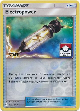 Electropower - 172/214 - Staff League Promo
