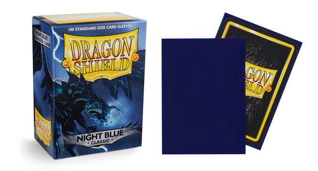 Dragon Shield Box of 100 - Night Blue
