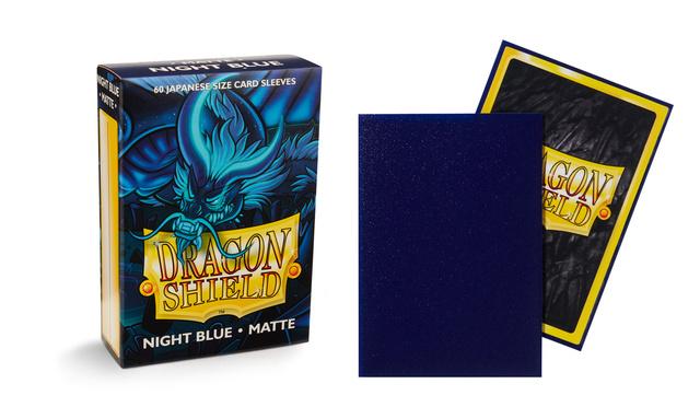 Dragon Shield Japanese-Sized Matte 60ct - Night Blue