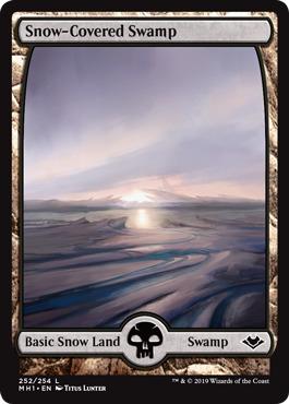 Snow-Covered Swamp - Foil