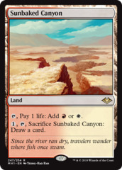 Sunbaked Canyon - Foil