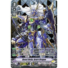 Beast Deity, Azure Dragon - V-EB06/SV03EN - SVR (Gold Hot Stamp)