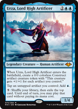 Urza, Lord High Artificer - Foil - Magic Singles » [MTG] Modern